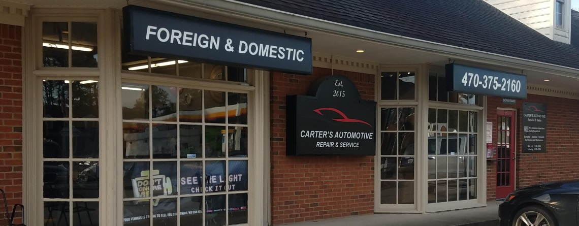 Carter'S Auto Repair >> Carter S Automotive